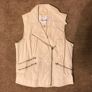 Maurices Leather-Like Vest